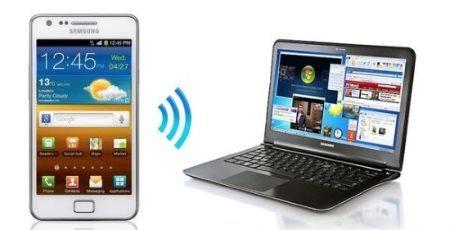 Мобильный телефон как точка доступа