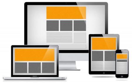 Пример скрытия блоков в адаптивном дизайне сайта