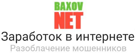 Обзор сайта Baxov.NET о заработке в интернете и разоблачении мошенников