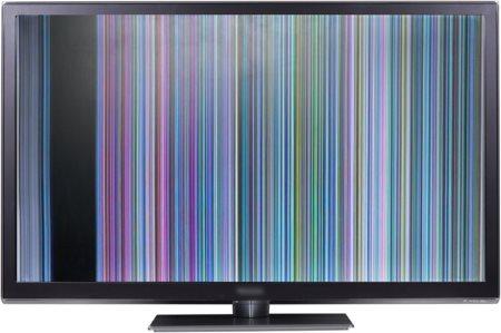 Горизонтальные и вертикальные полосы на экране
