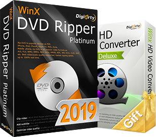 Профессиональная и простая программа WinX DVD Ripper Platinum для копирования и кодирования DVD видео в другие форматы